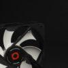 Typhoon Breeze Case Cooling Fan 2200RPM Rubber Pad