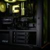 ROKU XL - Yellow RGB Internal - EK 240 AIO, GeFroce RTX, Season Focus GX750